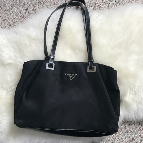 1d33f261792a PRICE DROP! Prada nylon   leather bag. M 5bae4830a31c3324cc13357c